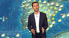 Ascenso de las temperaturas diurnas en la Península y Baleares
