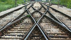 Vecinos de varios municipios aragoneses protestan por el abandono que sufre el servicio ferroviario en la comunidad