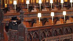 La soledad de Isabel II para dar su último adiós a su esposo, el duque de Edimburgo