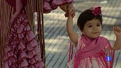 Se visten de flamenca, aunque no haya feria