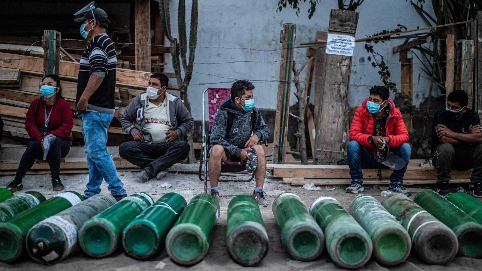 La crisis sanitaria agudiza la pobreza en Perú