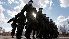 Siguen llegando tropas rusas a la frontera con Ucrania
