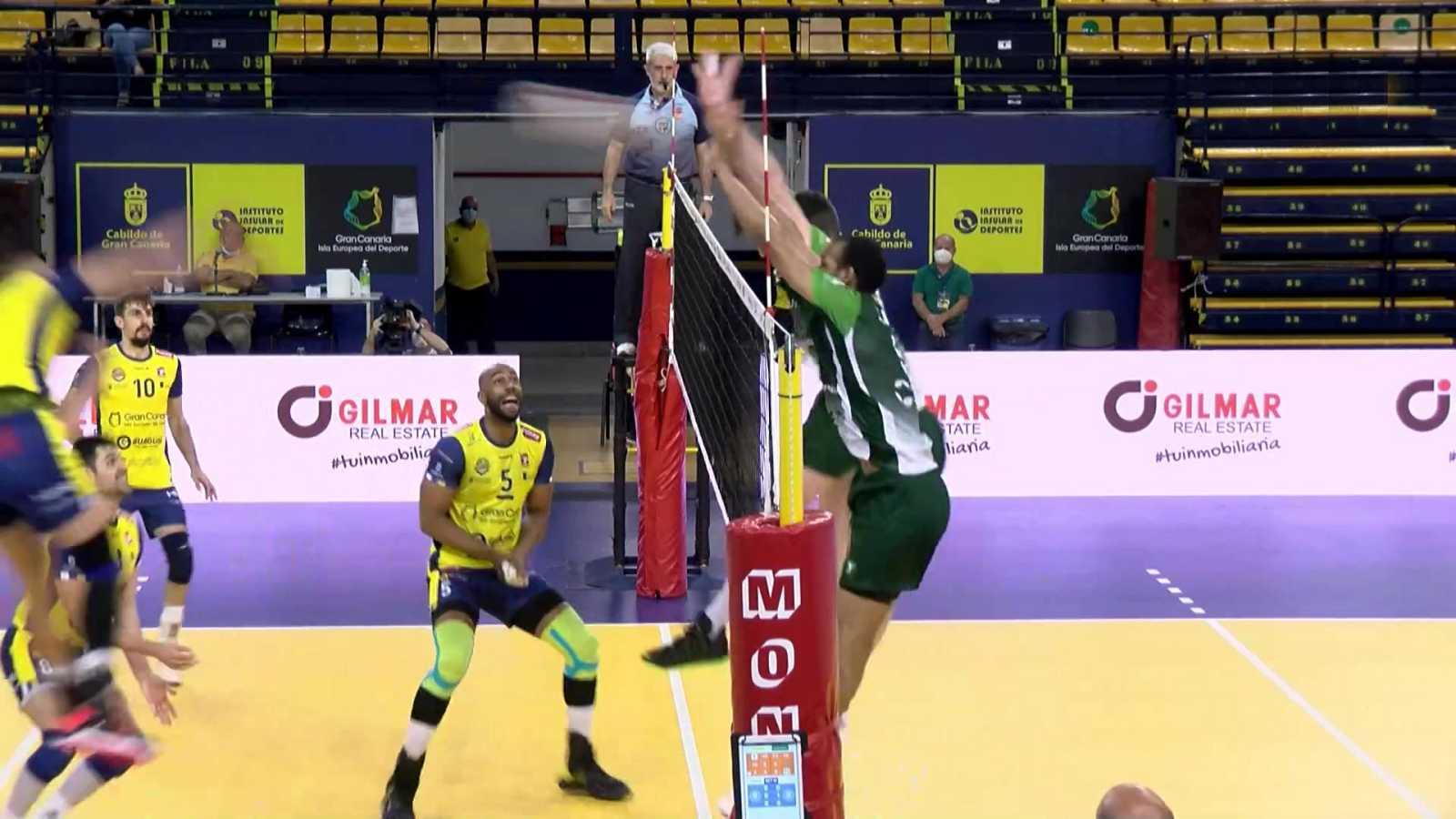Voleibol - Superliga masculina. Play Off Final 2º partido: CV Guaguas - Unicaja Costa de Almería - ver ahora
