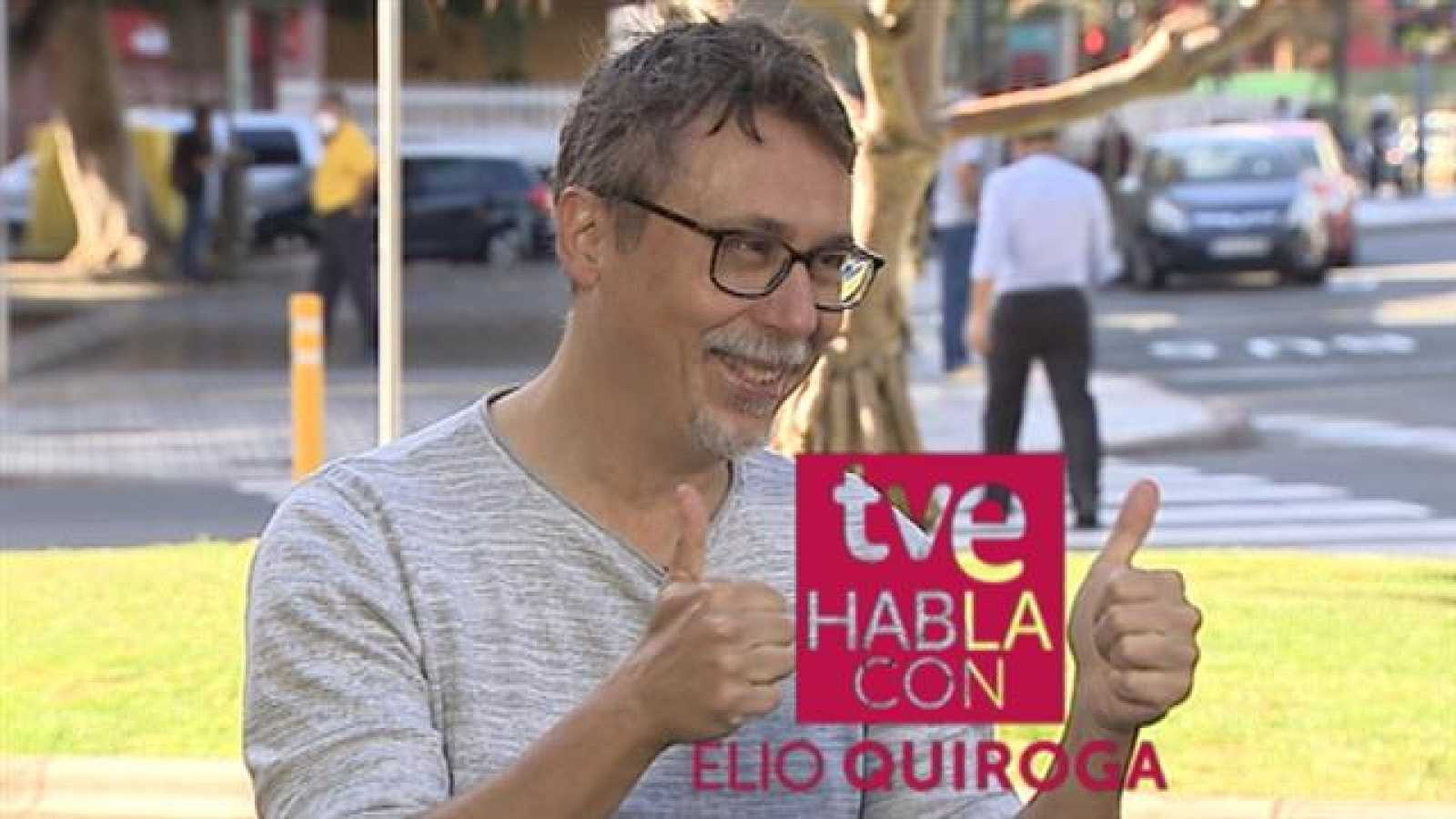 TVE habla con Elio Quiroga - 18/04/2021