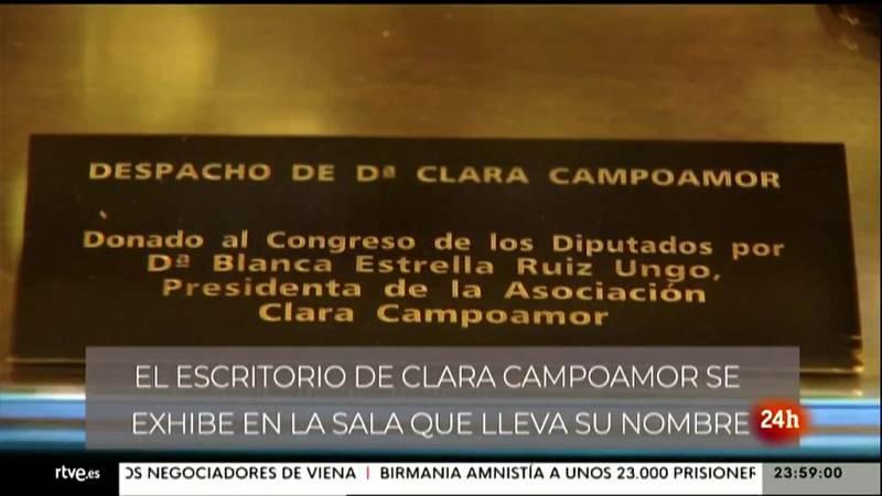 Parlamento - Conoce el Parlamento - El escritorio de Clara Campoamor - 17/04/2021