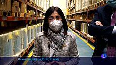 Darias anuncia que arribaran 1,7 milions de dosis setmanals de Pfizer
