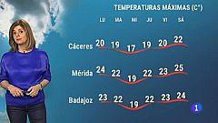 El tiempo en Extremadura - 19/04/2021