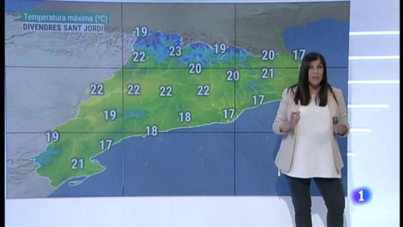 El Temps (19/04/2021) - Fresca, núvols i pluja fins dijous. I Sant Jordi, què?
