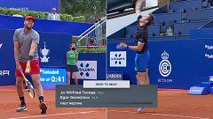 Tenis - ATP 500 Trofeo Conde de Godó. 2º partido: JW. Tsonga - E. Gerasimov