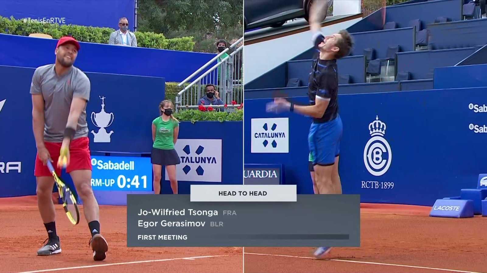 Tenis - ATP 500 Trofeo Conde de Godó. 2º partido: Tsonga - Gerasimov - ver ahora
