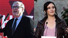 Gabilondo y Ayuso se enzarzan por las colas del hambre en una jornada de campaña llena de propuestas