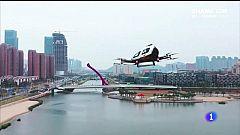 Santiago será das primeiras cidades da UE con probas de taxis aéreos