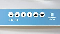 Sorteo de la Lotería Bonoloto del 19/04/2021