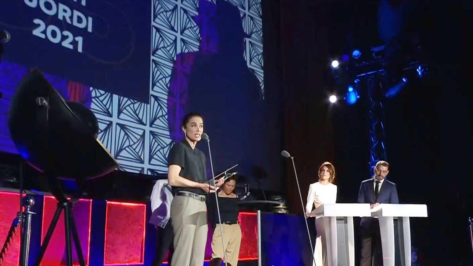 RNE entrega los Premios Sant Jordi con Patricia López de protagonista