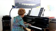 Colette Maze, una pianista centenaria que no para de generar música