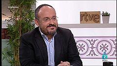 """Cafè d'idees - Alejandro Fernández: """"Junts vol esperar els resultats de Madrid"""""""