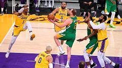 Utah se impone con claridad a unos Lakers sin Marc Gasol
