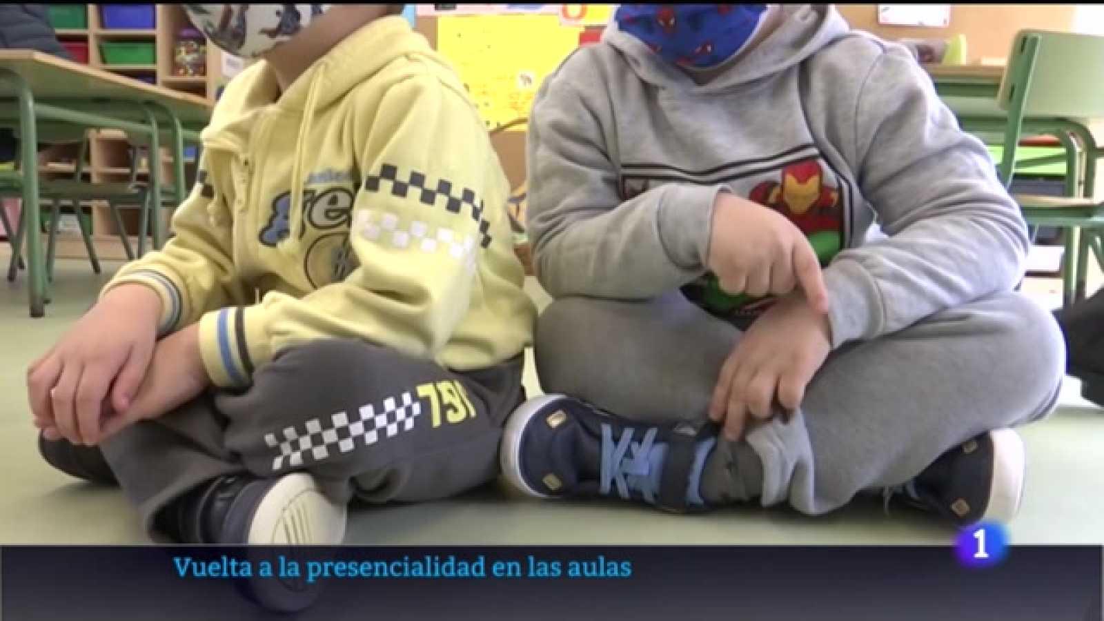 Video explicativo sobre la vuelta a las aulas en infantil y primaria en la Región