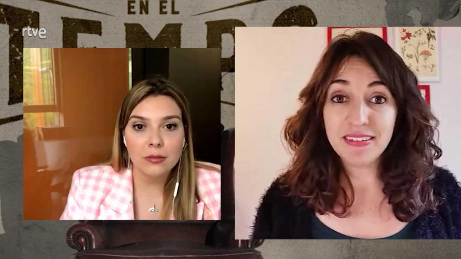 Perduts en el Temps - Anna Bertran ens parla en directe de la segona temporada