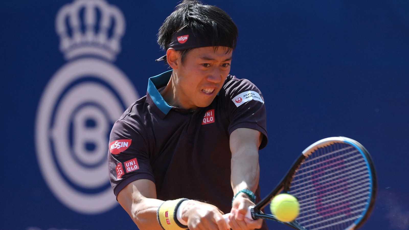 Tenis - ATP 500 Trofeo Conde de Godó. 3º partido: K. Nishikori - G. Pella - ver ahora