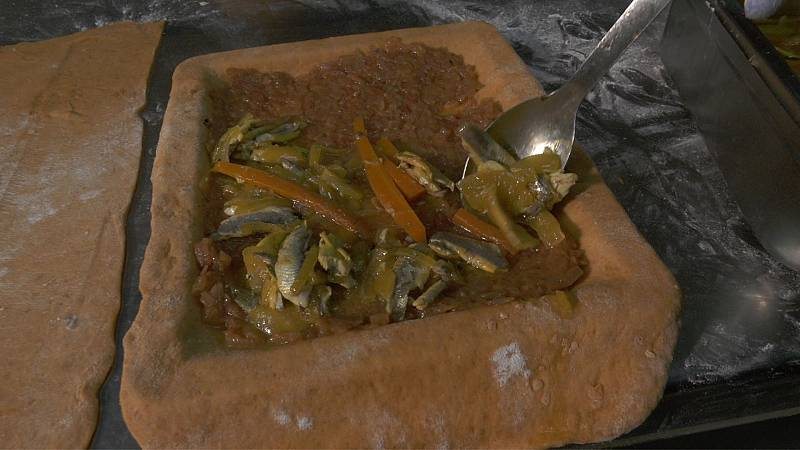 Receta gallega: empanada de boquerones