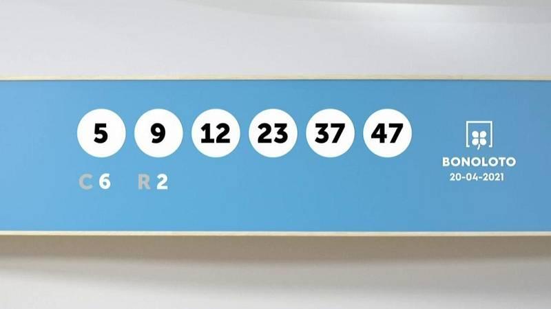 Sorteo de la Lotería Bonoloto y Euromillones del 20/04/2021 - Ver ahora