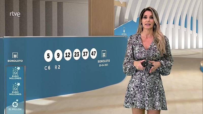 Sorteo de la Bonoloto y Euromillones del 20/04/2021 - ver ahora