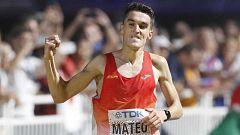 Dani Mateo bate el récord de la hora del atletismo español