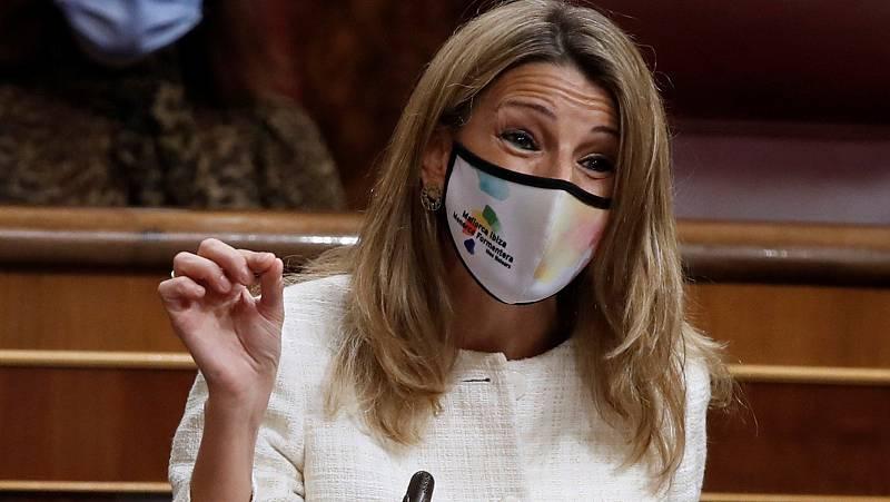 """Díaz a García Egea: """"El FMI pensó que el Gobierno de España iba a aplicar las mismas recetas que ustedes"""""""