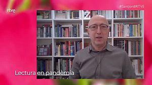 Sant Jordi 2021 amb Òscar López, presentador de Página Dos