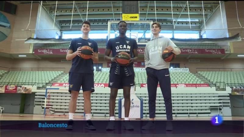 Tres jugadores del UCAM Murcia debutan en Sevilla dando muy buenas impresiones