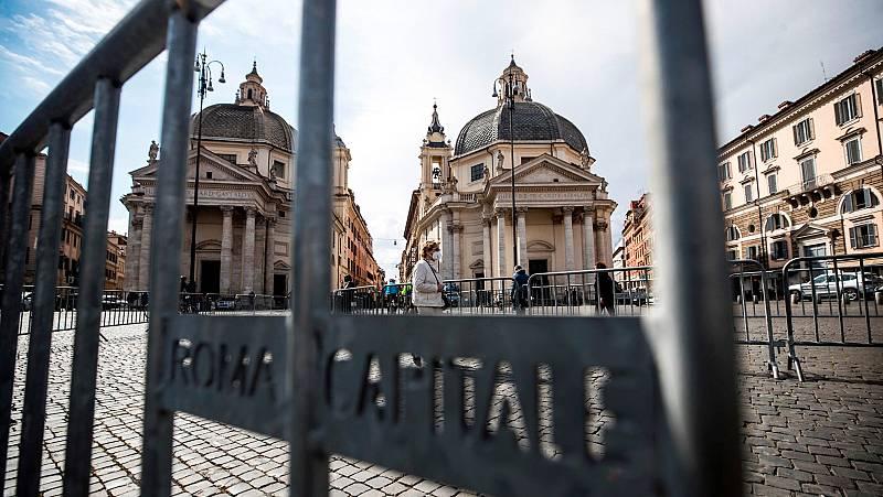 Llaman la atención a curas en Roma por saltarse el toque de queda