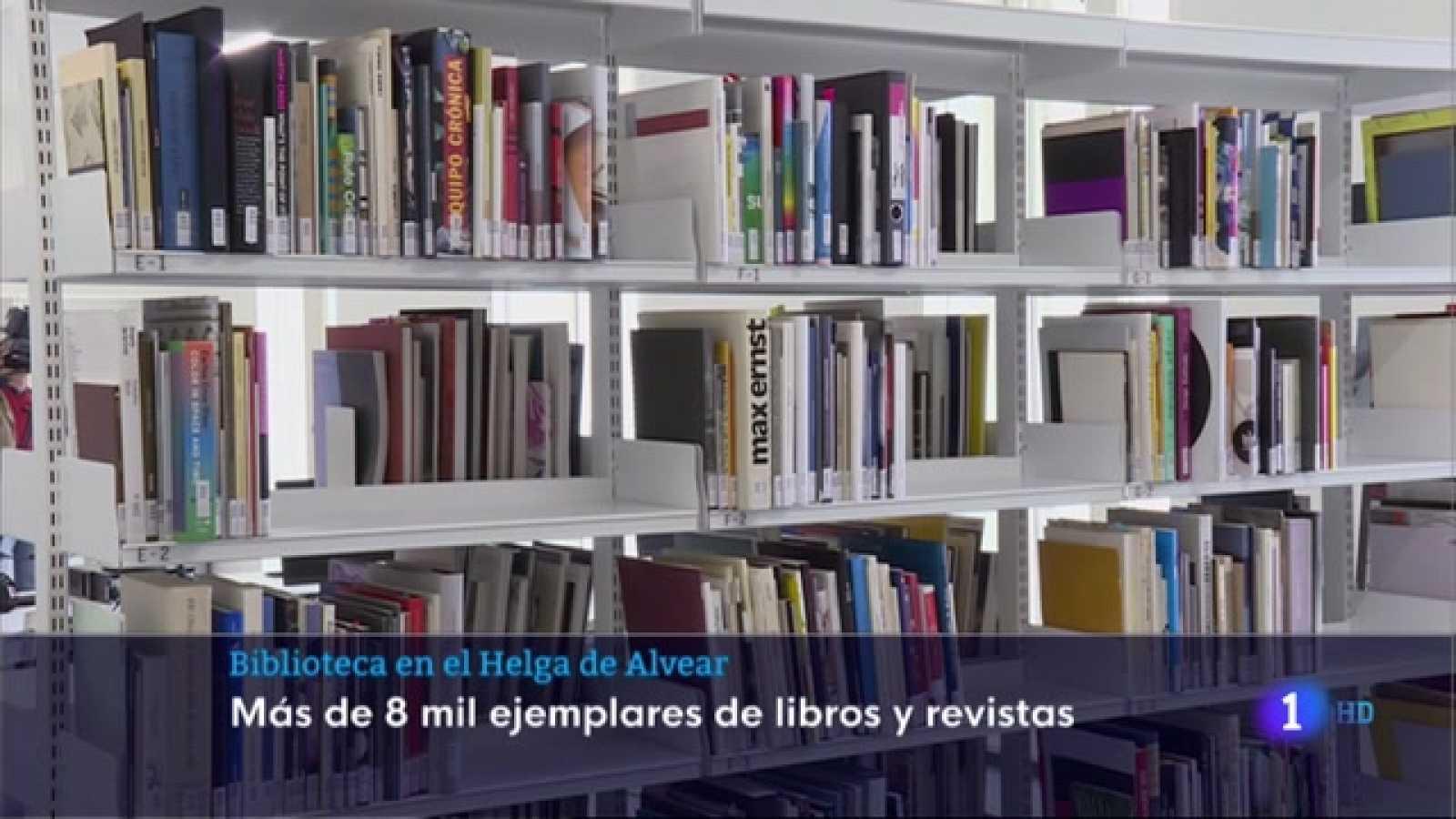 Biblioteca en el Helga de Alvear - 21/04/2021