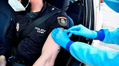 La vacunación de la Policía Nacional en Cataluña será asumida por el Gobierno de España