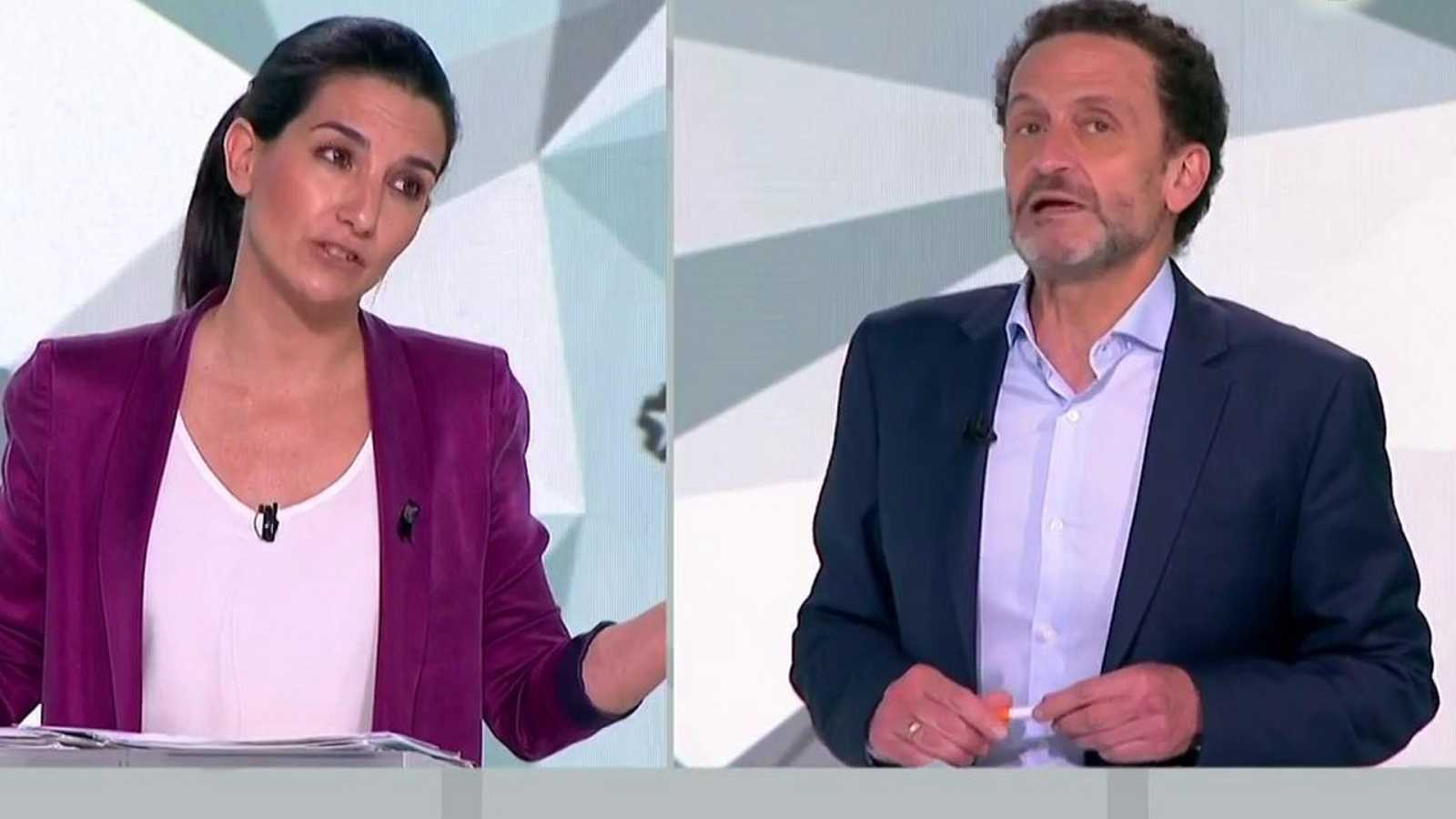 "Edmundo Bal (CS), al ataque contra Vox por las políticas sociales: ""Son ustedes un poquito antiguos"""