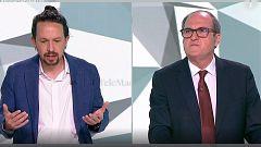 Iglesias se enfrenta a Gabilondo por no querer subir los impuestos