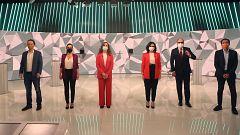 Debate electoral: minuto final de los candidatos a la Comunidad de Madrid