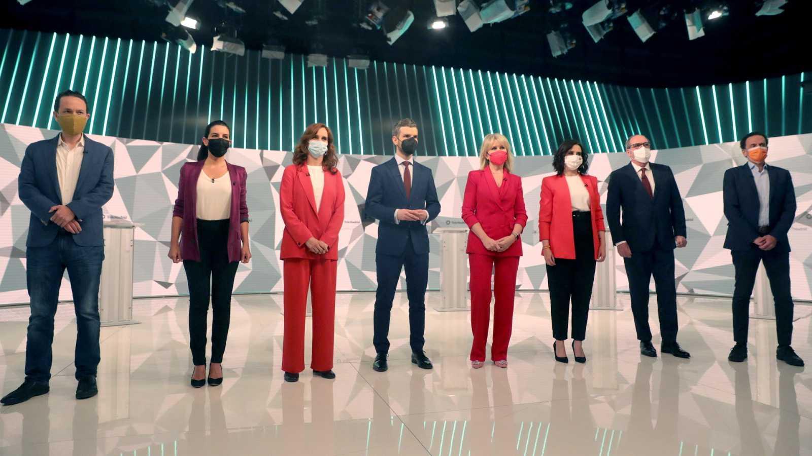Especial informativo - Debate elecciones Madrid 4M - ver ahora