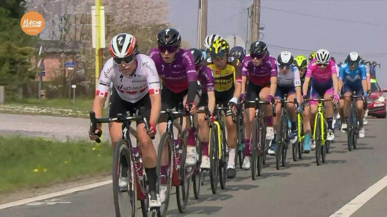 Ciclismo - Flecha Valona 2021. Carrera femenina - ver ahora