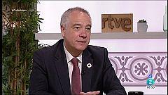 Cafè d'idees - Pere Navarro descarta la fàbrica de bateries elèctriques a la Zona Franca