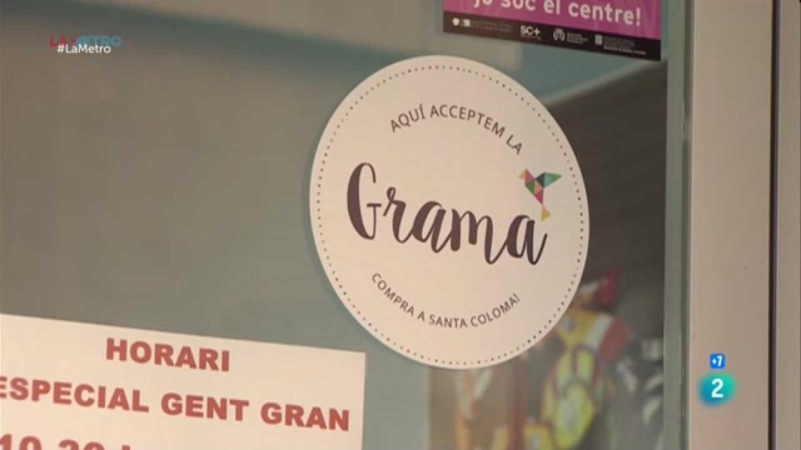 Us expliquem com funciona la grama, la moneda virtual que ja fan servir uns vuitcents establiments a Santa Coloma de Gramenet