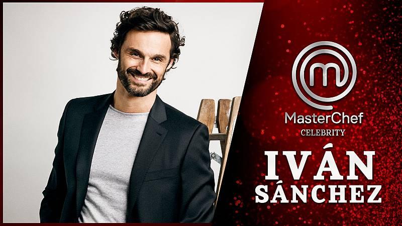 Iván Sánchez, con muchas ganas de entrar en Masterchef Celebrity