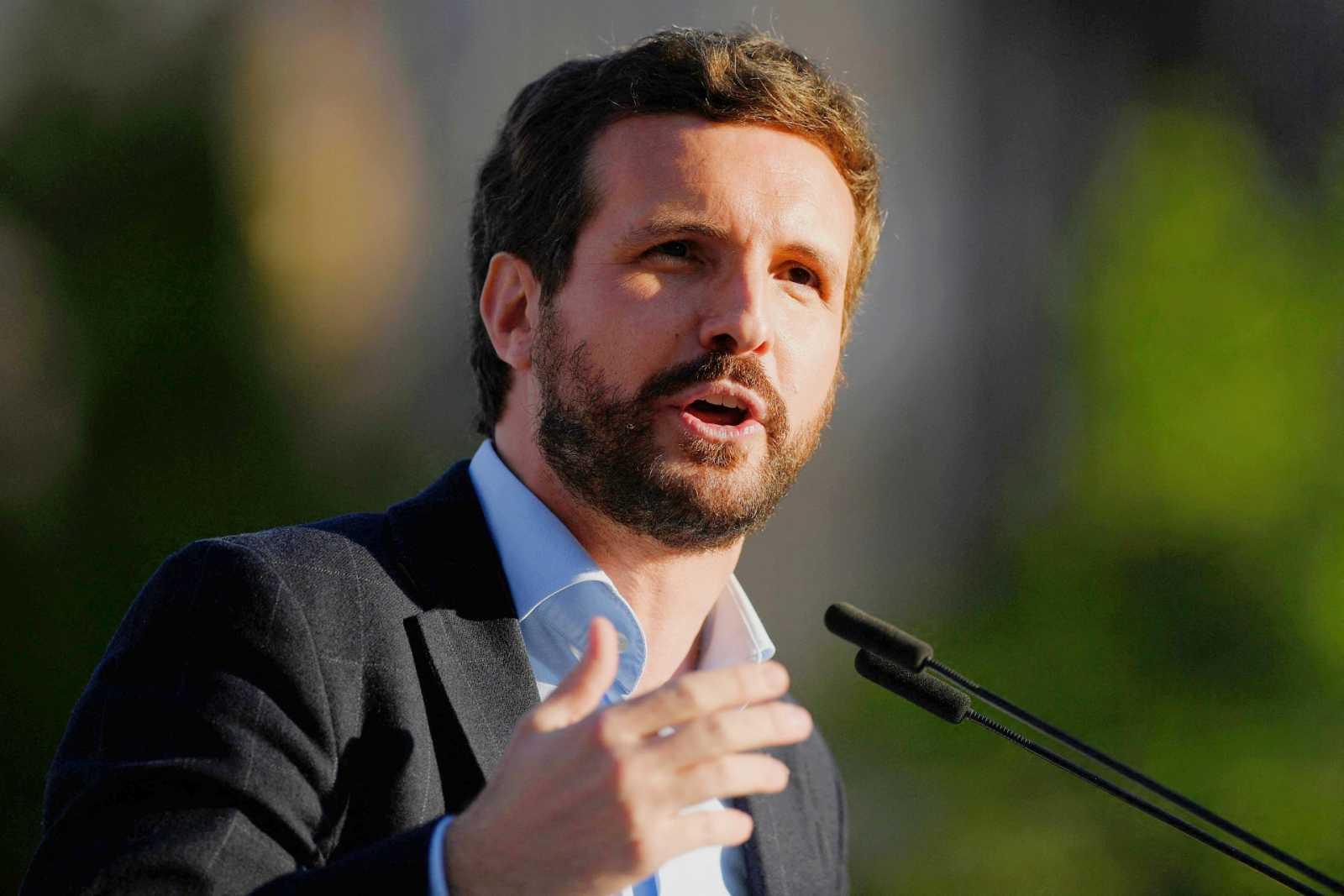 """Casado insiste en que si Sánchez acepta que haya """"independencia judicial"""", el CGPJ se puede renovar """"mañana mismo"""""""