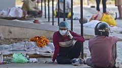 India supera los 300.000 casos de COVID-19 diarios, una cifra récord mundial