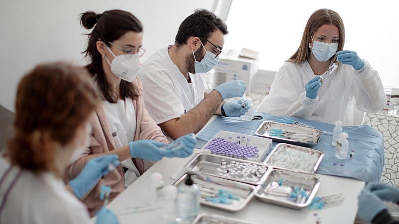 Las comunidades autónomas comienzan ya a vacunar con Janssen