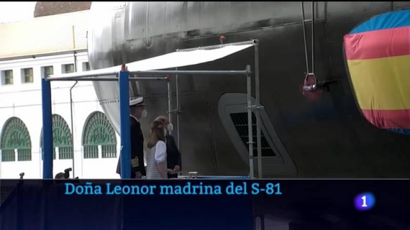 Video sobre la puesta a flote del S-81 Isaac Peral