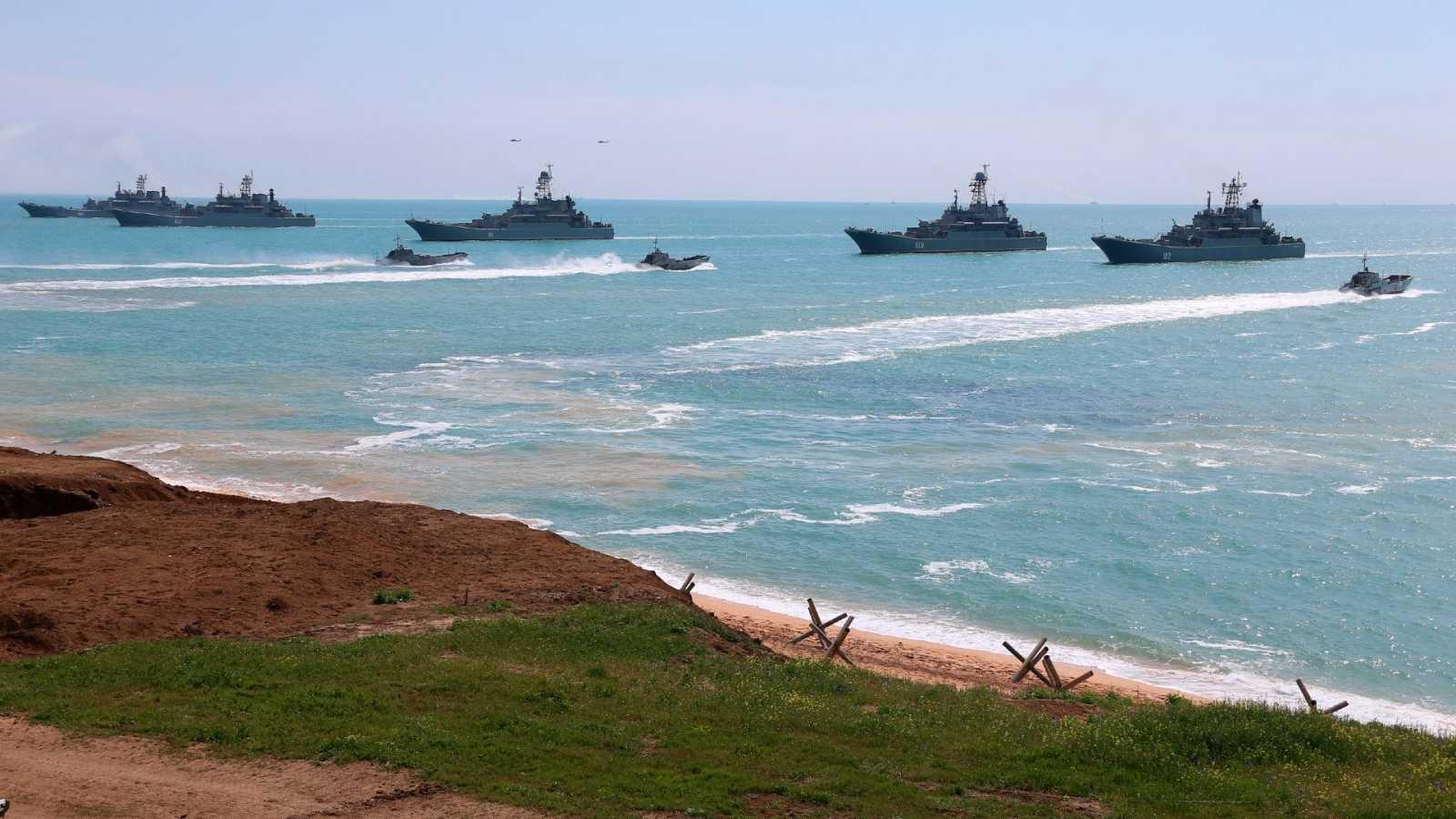 Rusia anuncia la retirada de sus tropas en la frontera con Ucrania