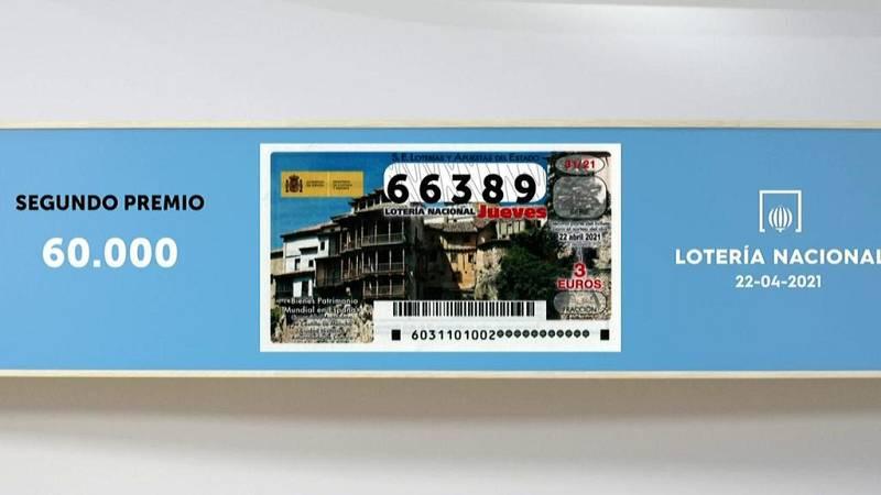 Sorteo de la Lotería Nacional del 22/04/2021 - Ver ahora