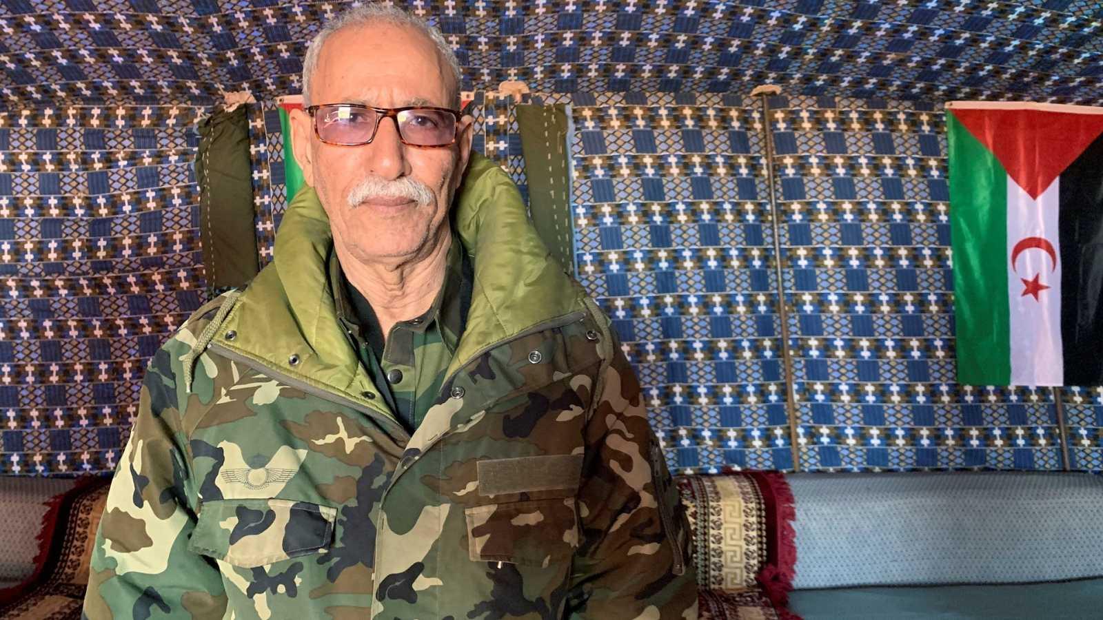 Brahim Ghali, líder del Frente Polisario, se encuentra ingresado en un hospital en España