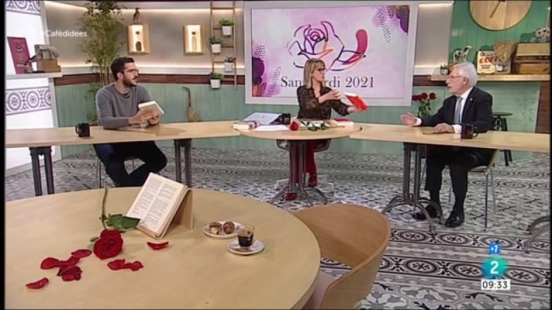 Sant Jordi 2021, Maria Dueñas i Àngels Ponsa
